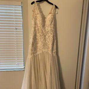 NWT Wedding Dress Beads Galina 12 Lace Ivy Champ